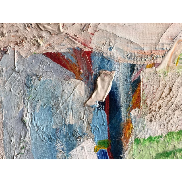 Fabulous Heavy Impasto Abstract by Thomas Koether For Sale In Nashville - Image 6 of 8