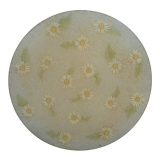 Groovy 60's Large Acrylic Flower Power Daisy Table Top Only For Sale