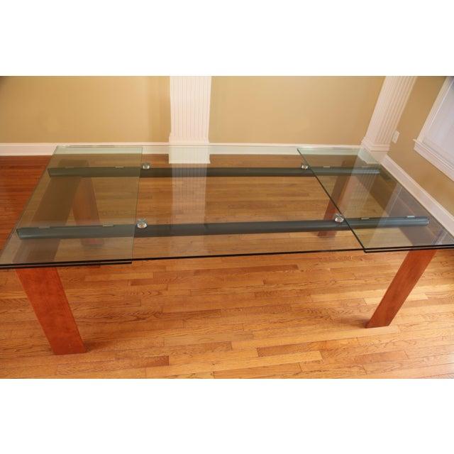 Roche bobois extendable dining table chairish - Table marbre roche bobois ...