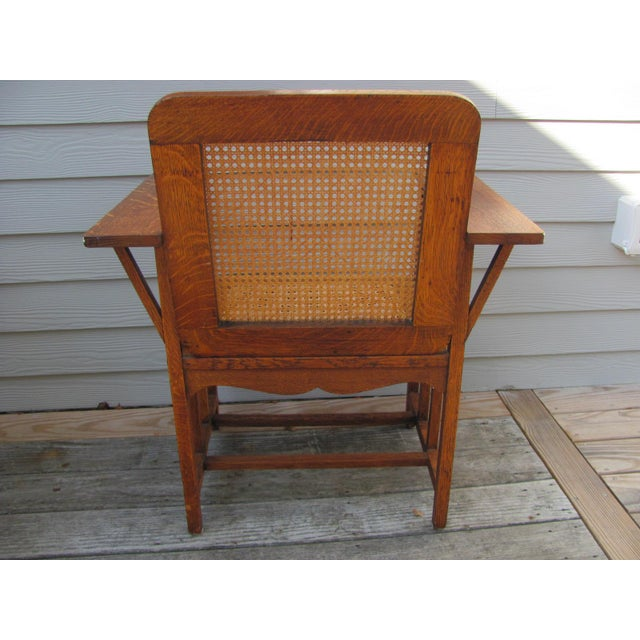 Stickley Early 20th Century Vintage David Walcott Kendall Craftsman Kendall Chair For Sale - Image 4 of 12