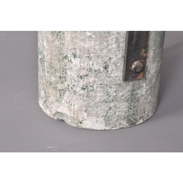 Metal Concrete Outdoor Wall Lamps, Switzerland 1950s For Sale - Image 7 of 8
