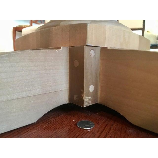 Restoration Hardware Round Dining Table - Image 5 of 5