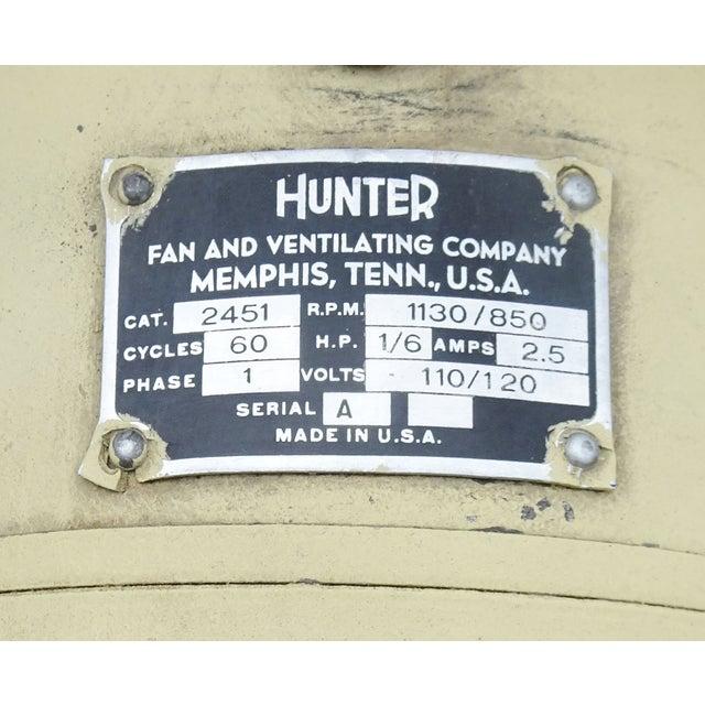 Hunter Zephair 2430 Bullet Back Industrial Pedestal Floor Fan