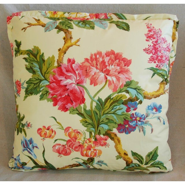 Brunschwig & Fils Coligny Spring Floral Pillows - a Pair - Image 7 of 10