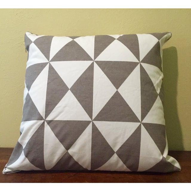 Gray & White Geometric Pillows - Set of 4 - Image 3 of 11