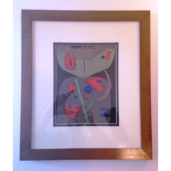 "Paul Klee ""Figure of the Oriental Stage"" Print - Image 2 of 3"