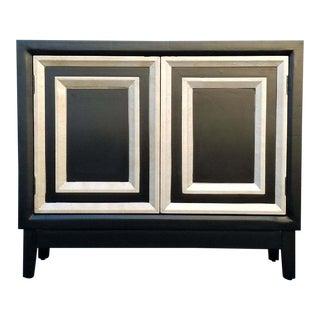 """""""Regal"""" Black Cabinet Credenza"""