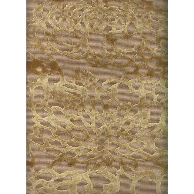 Offered is 3.875 yards of Lee Jofa's Foglia floral cut velvet in Camel. If you are unfamiliar with this colorway, please...