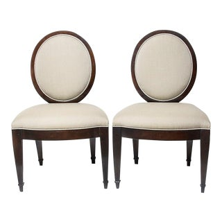 John Hutton for Donghia Dining Chairs - A Pair