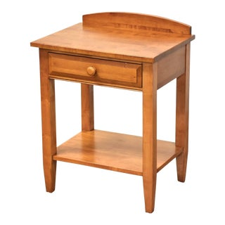 Ethan Allen Solid Maple Nightstand For Sale