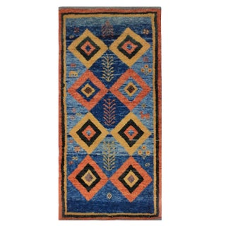 A Hand Woven Persian Carpet For Sale