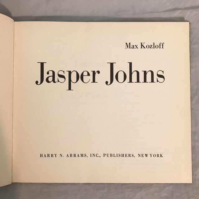 Modern Jasper Johns by Max Kozloff For Sale - Image 3 of 11