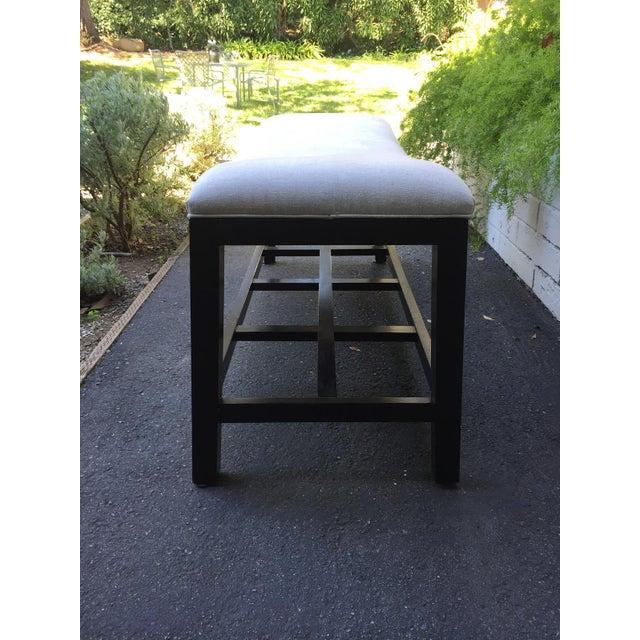 Asian Inspired Saddle Bench - Image 4 of 6