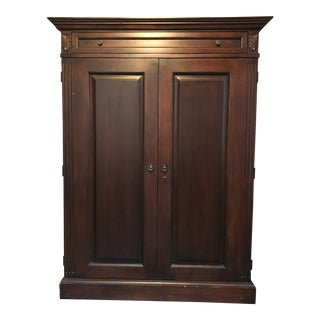 Romweber Television Entertainment Media Center Armoire For Sale