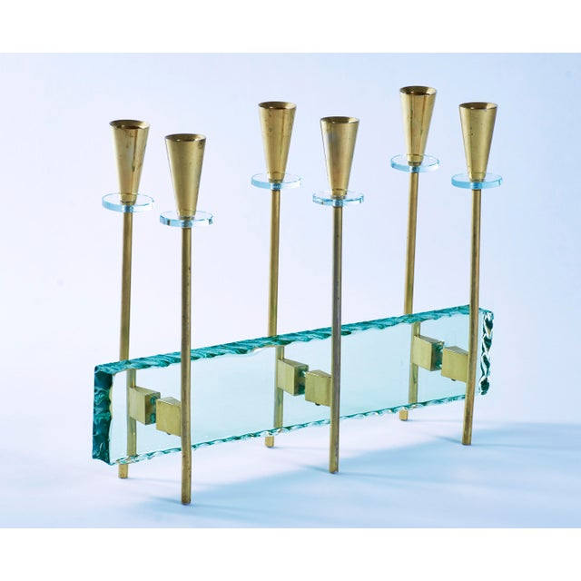 Fontana Arte Candelabrum by Max Ingrand, 1960's For Sale - Image 11 of 11