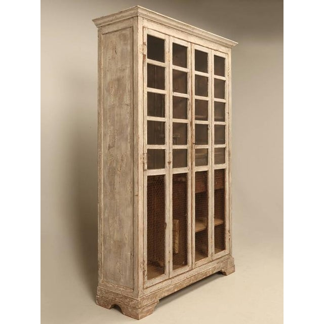 Workman's cabinet found in an Italian boatyard made in the mid-1800s and in absolutely untouched original condition, even...