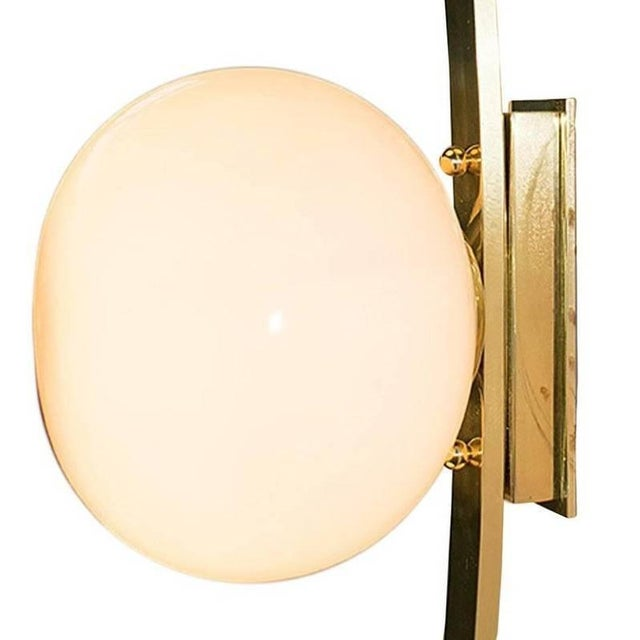 Gold Cresta Sconce by Fabio Ltd For Sale - Image 8 of 11
