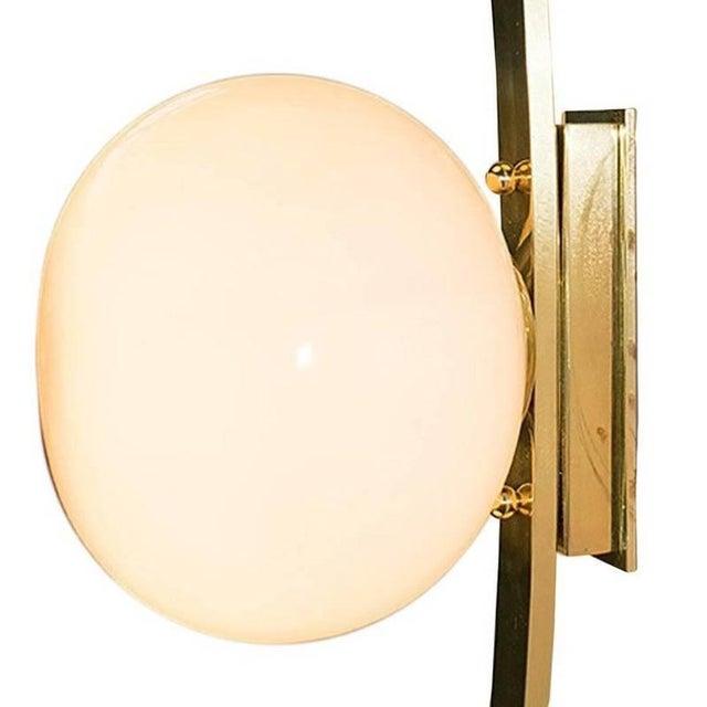 Gold Cresta Sconces / Flush Mounts by Fabio Ltd (4 Available) For Sale - Image 8 of 11