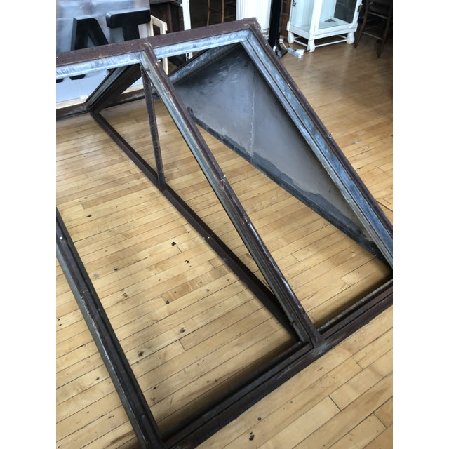 Industrial Antique Metal Skylight For Sale - Image 3 of 7