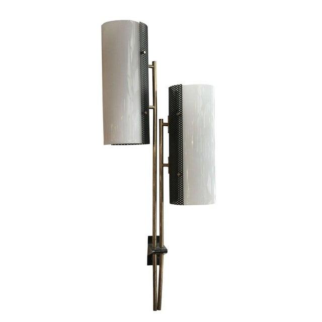 1960s Stilnovo Brass Sconce For Sale - Image 5 of 5