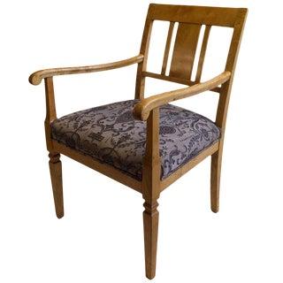 Gentleman's Biedermeier Desk Chair For Sale