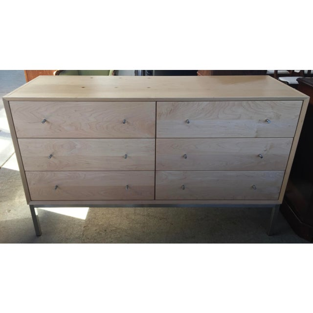 Mid-Century Modern Room and Board Dresser Delano 6 Drawer For Sale - Image 3 of 9