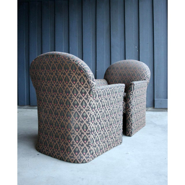 1980s Contemporary Armchairs, Set of 4 For Sale - Image 12 of 13