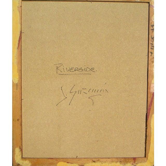 Guzman California Modernist Painting - Image 4 of 4
