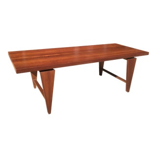 1960s Scandinavian Modern Mikael Laursen Teak Coffee Table For Sale