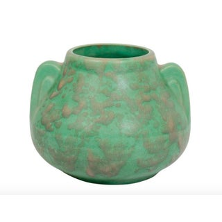 Arts & Crafts Green Pottery Vase Preview