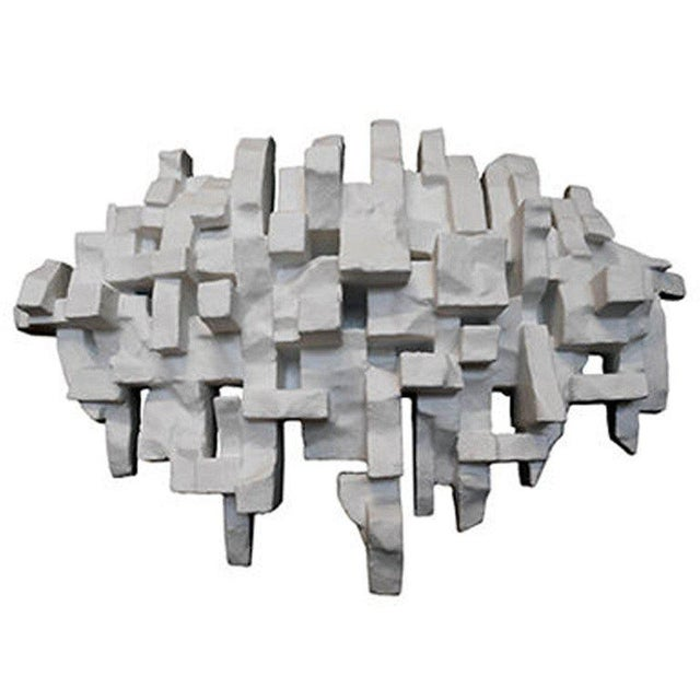 """""""Procession"""" wall sculpture by Dan Schneiger. Schneiger, a Miami based architect and artist, creates architecturally..."""