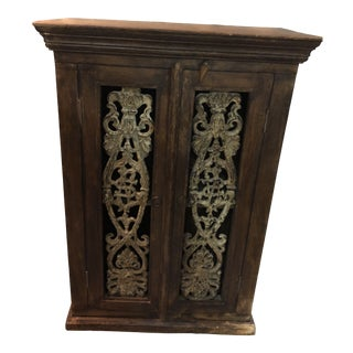 1970s Rustic Mexican Cabinet For Sale
