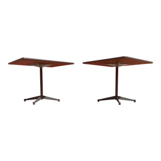 1970s Eames Square Cafe Tables - a Pair For Sale