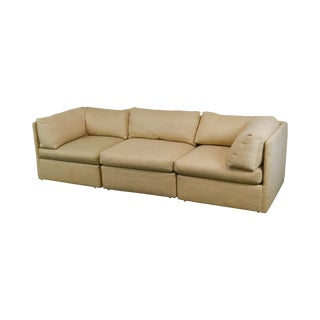 Thayer Coggin Mid Century Modern Style 3 Piece Sectional Sofa For Sale
