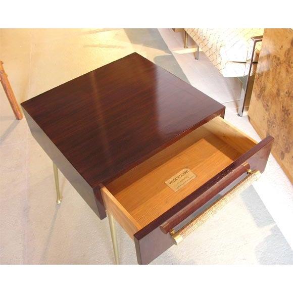 Widdicomb Glove Box Nightstands by T.H. Robsjohn-Gibbings for Widdicomb For Sale - Image 4 of 8