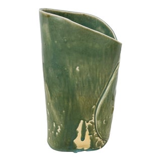 Vintage 1990s Studio Pottery Vase For Sale