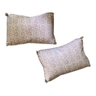Elizabeth Eakins Geometric Print Accent Pillows - A Pair