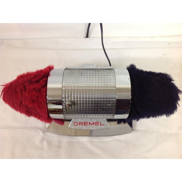 Vintage Industrial Dremel Shoe Shine Machine - Image 5 of 8