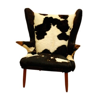 Early 20th Century Svend Skipper Wingback Chair For Sale