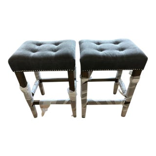 Four Hands Counter Stools - A Pair