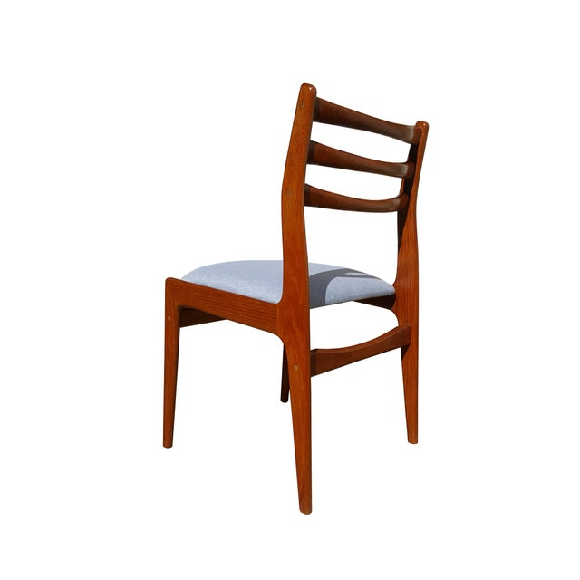 Danish Mid-Century Modern Teak Wood Dining Chair - A Pair - Image 5 of 8