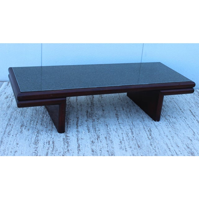Mid-Century Modern Harvey Probber Resin Top Modernist Coffee Table For Sale - Image 3 of 11