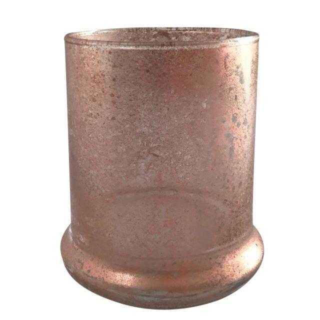 Rose Gold Glass Vase Chairish