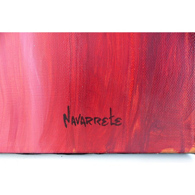 Abstract Painting by Cuban - American Artist Juan A. Navarrete - Image 4 of 10