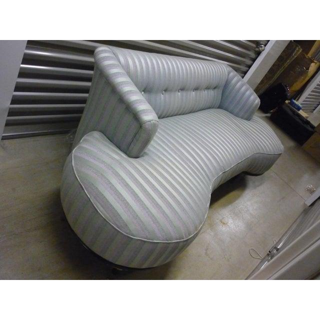 Schiaparelli-Style Stripe Sofa - Image 5 of 7
