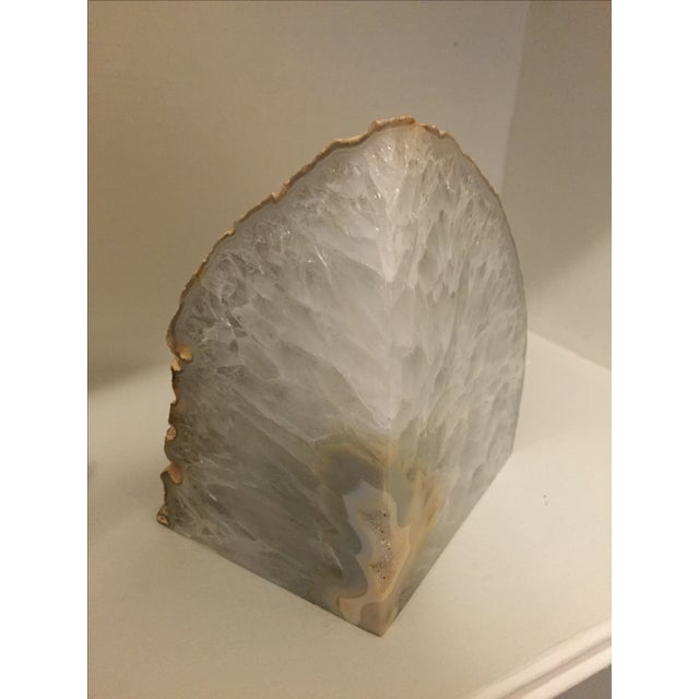 Large Agate Bookends - A Pair - Image 4 of 6