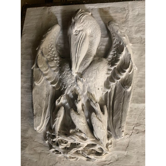 This commissioned piece of The Mother Pelican: a classic symbol of Christianity, reproduced by Piertro Caproni in the...