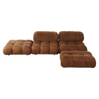 Mario Bellini 'Camaleonda' Modular Sofa, B&b Italia, 1970s, for Reupholstery For Sale