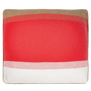 Array Cashmere Pillow, Coral For Sale