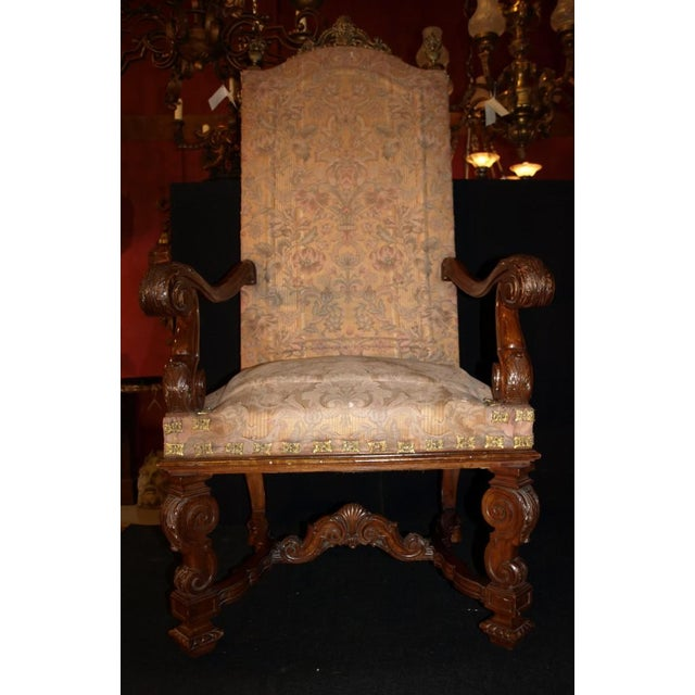 Antique Armchairs - Image 3 of 9